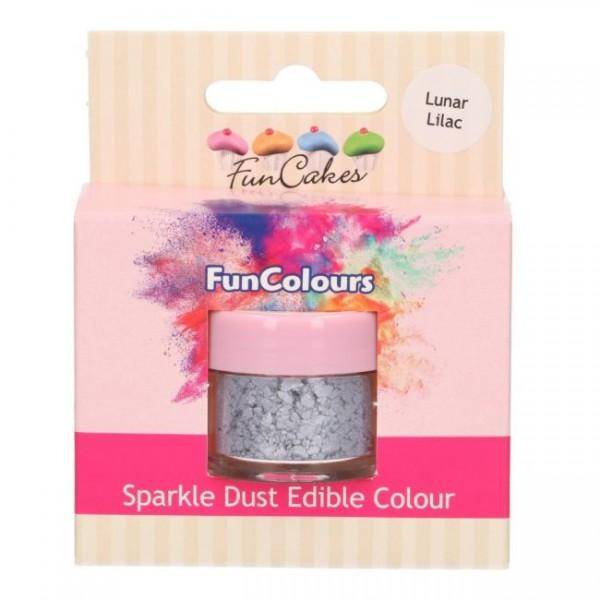 FunCakes Edible FunColours Sparkle Dust - Lunar Lilac