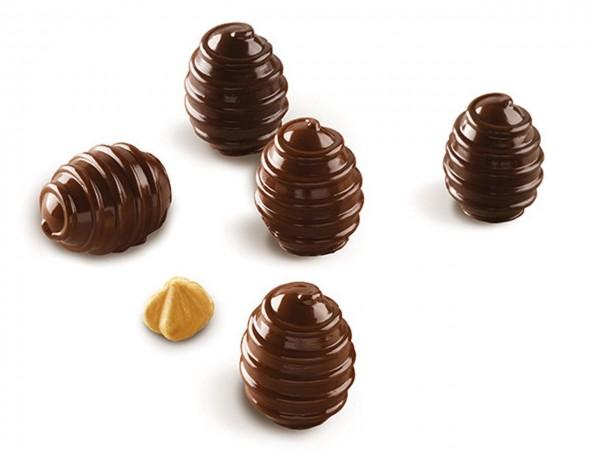 Schokoladenform Choco Spiral Silikonform