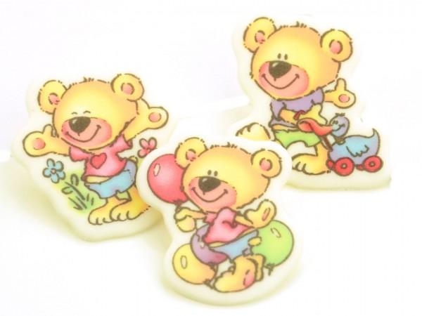 Dekoraufleger Bären 8 Stk