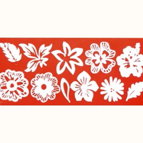 Sweet Lace Silikonmatte Flower Mix