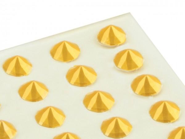 Essbare Diamanten aus Gelee gold 20 Stück. Cake-Masters
