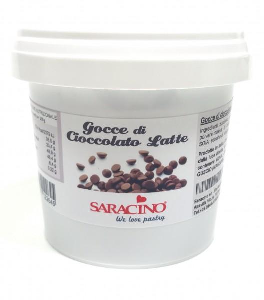 MHD Schokodrops Milchschokolade 250g - Saracino