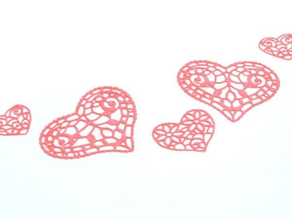 Spitzen Matte Hearts