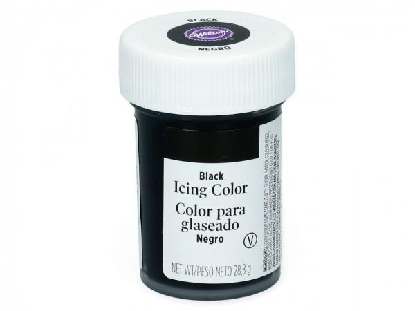 Wilton Icing Lebensmittelfarbe Schwarz
