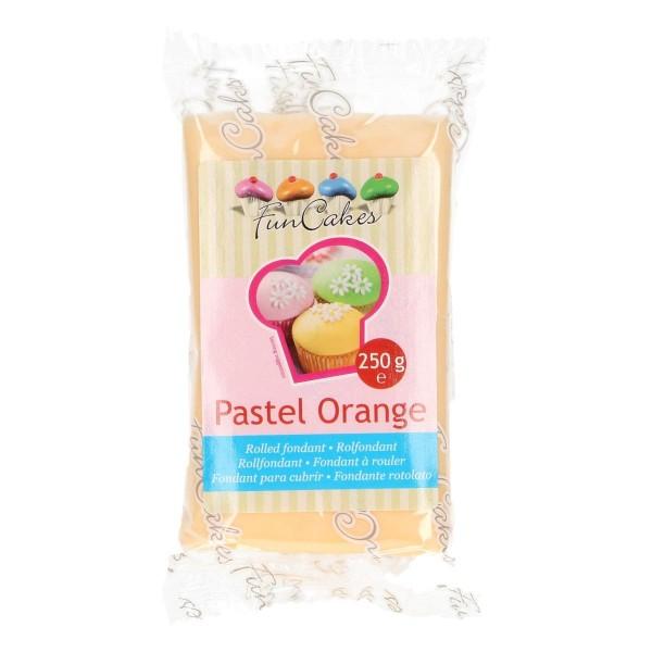 FunCakes Rollfondant -Pastel Orange- 250gr