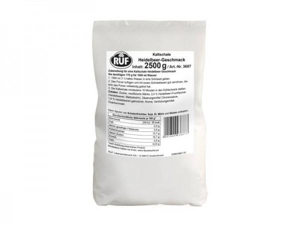 Kaltschale Heidelbeer 2,5 kg Beutel Instand