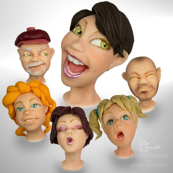 Modellierkurs - Gesichter