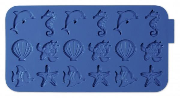 Schokoladenform - Meerestiere