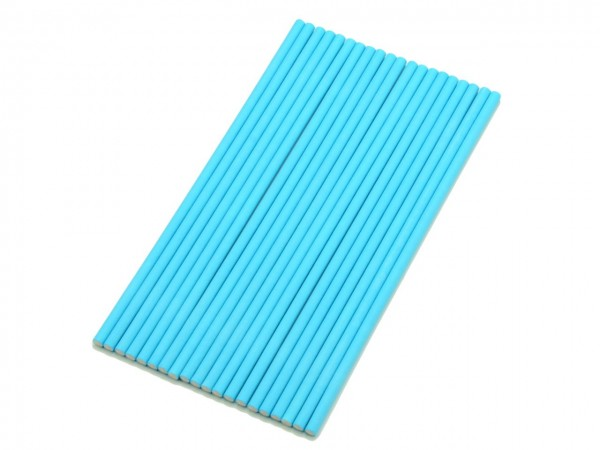 Cake Pop Sticks 15cm (Papier, 20 Stück) blau