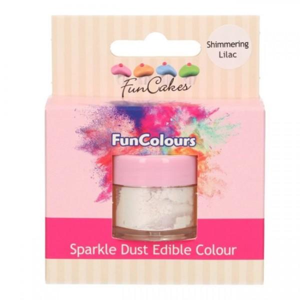 FunCakes Edible FunColours Sparkle Dust - Shimmering Lilac