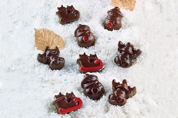 Schokoladenform Choco Winter Silikonform