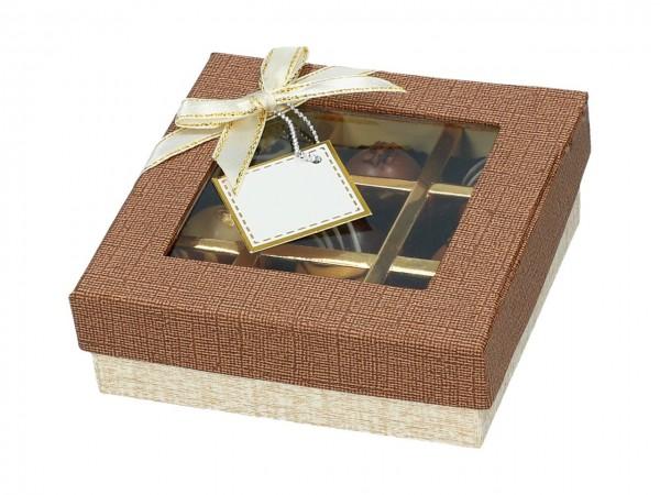 Chocolate Case für 9 Pralinen Treasure
