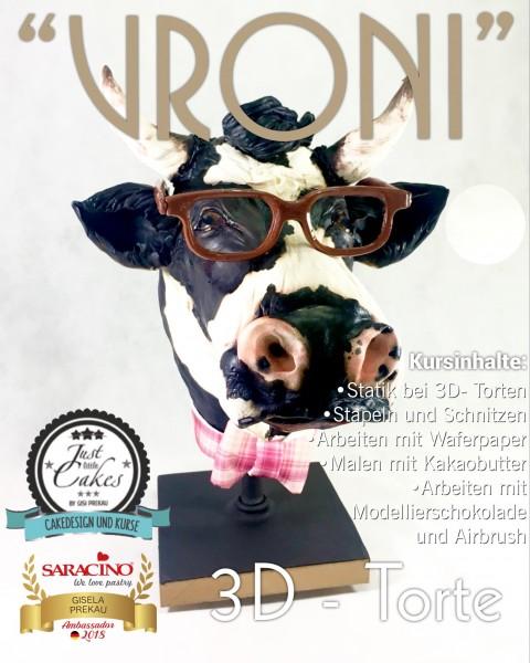 """3D Torten Kurs """"Vroni"""" mit Gisi Prekau"""
