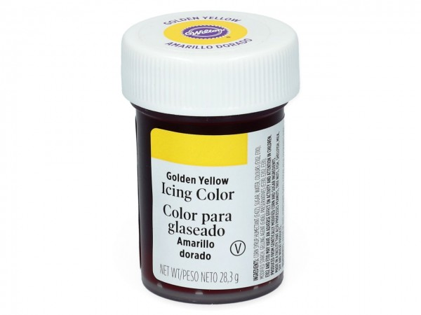 Wilton Icing Lebensmittelfarbe Golden Yellow