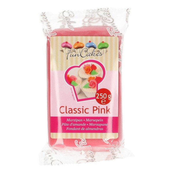 FunCakes Marzipan Classic Pink 250gr