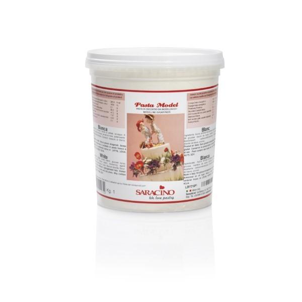 Weisser Modellierfondant Saracino Pasta Model - 1kg