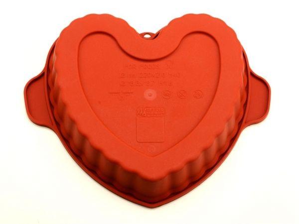 Herz Silikonform