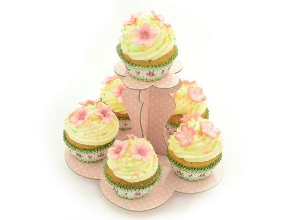 Cupcake Etagere Pink