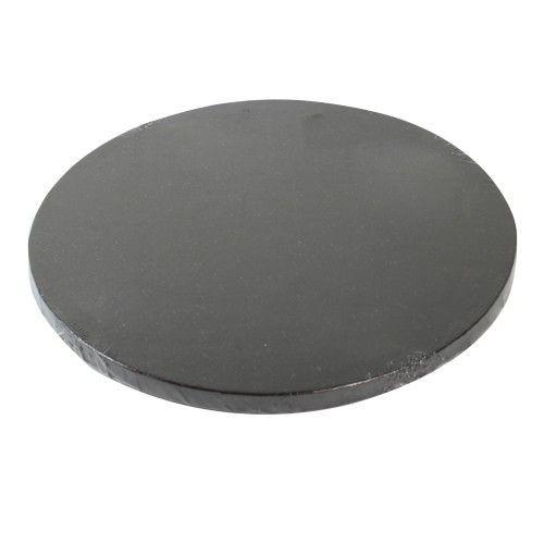 Kuchenplatte schwarz 25,4