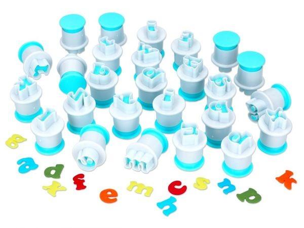Kleinbuchstaben Stempel-Ausstecher 26er