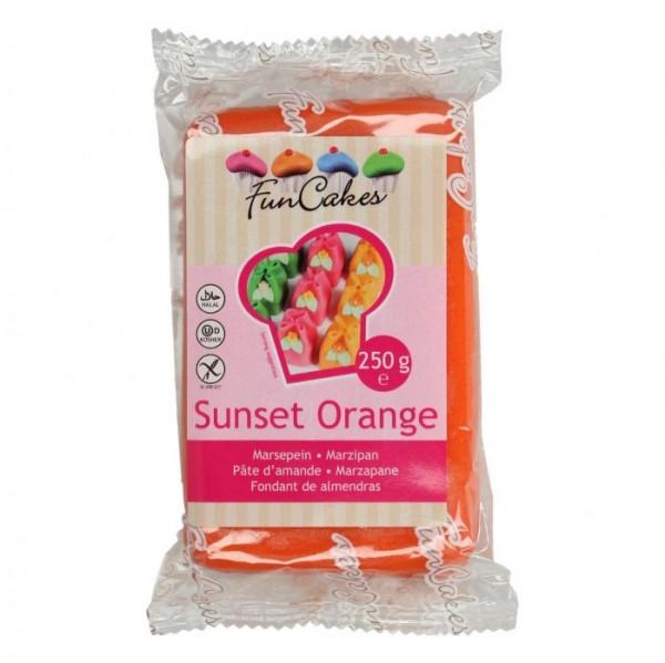 Sunset Orange Marzipan ähnliche Zuckermasse