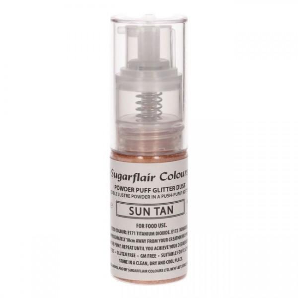 Sugarflair Pump Spray Glitter Dust - Sun Tan-