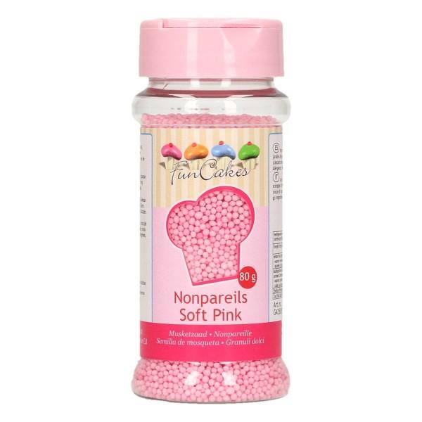 FunCakes Zuckerperlen Nonpareils - Light Pink