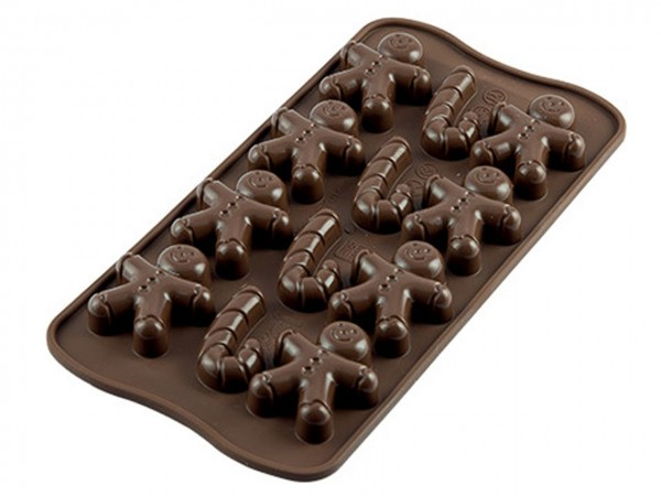 Schokoladenform Mr. Ginger Silikon
