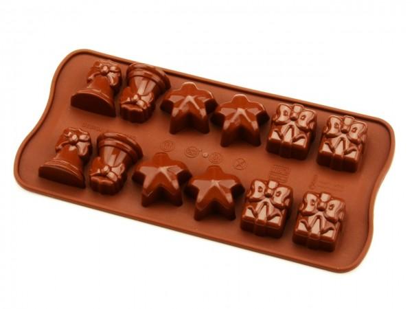 Schokoladenform Weihnachten