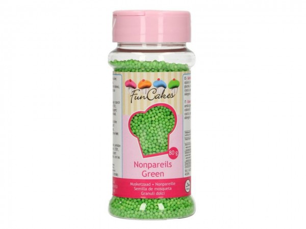 Zuckerperlen Nonpareils - Green