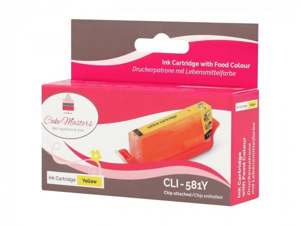 Patrone gelb CLI-581Y