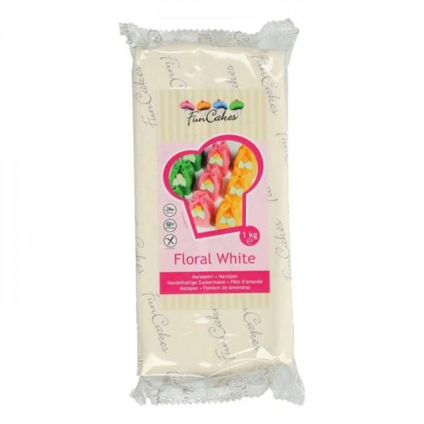 Floral WhiteFloral White Marzipan ähnliche Zuckermasse