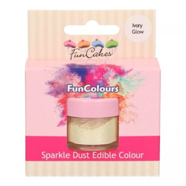 FunCakes Edible FunColours Sparkle Dust - Ivory Glow