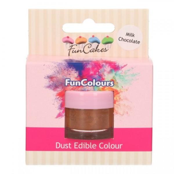 FunCakes Edible FunColours Dust - Milk Chocolate