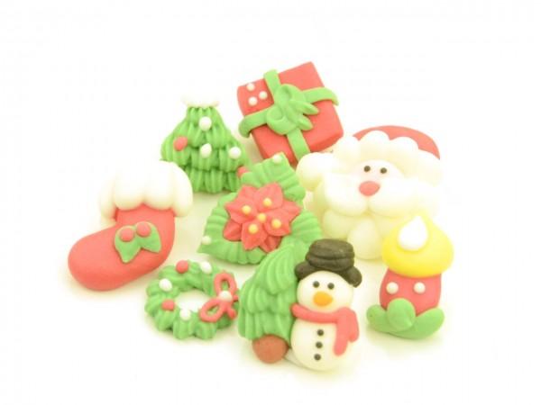 Zuckerdekor Weihnachten 8er Set