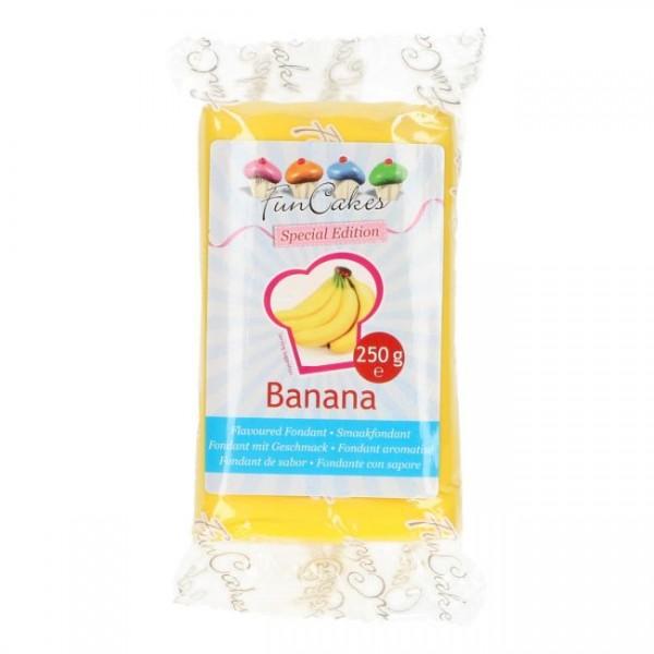 FunCakes Rollfondant Geschmack Banane - 250g