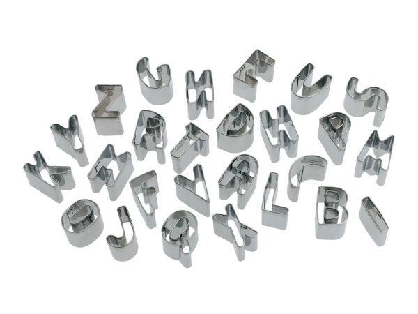 Buchstaben Ausstecher-Set 26tlg.