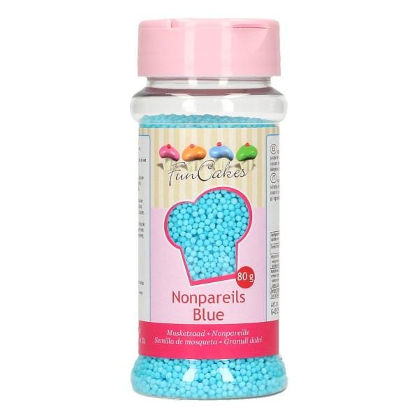 FunCakes Zuckerperlen Nonpareils - Blue