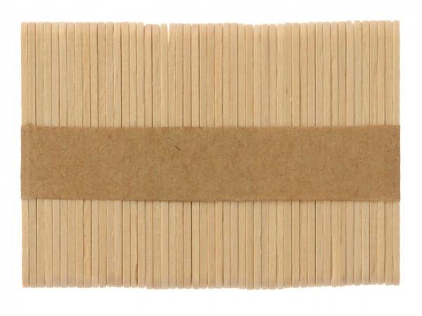 Mini-Eisstiele aus Holz 7cm 50 Stück