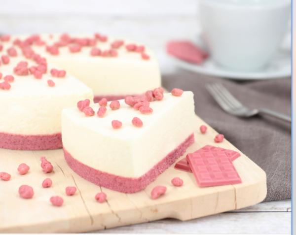 Ruby Chocolate Cheesecake 215g (ohne backen)