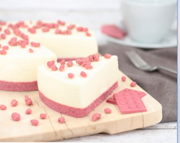 Ruby Chocolate Cheesecake 215g (ohne backen)