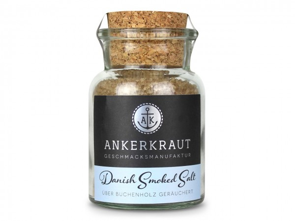 Danish Smoked Salt 160g