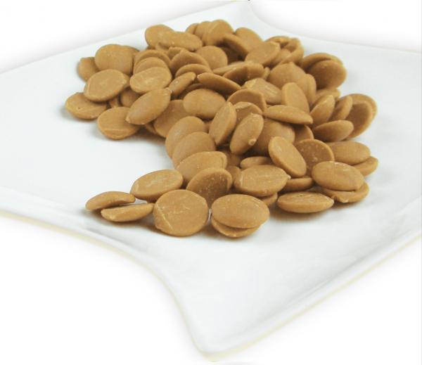 Schokodrops Gold Karamell 2,5kg - Callebaut Callets