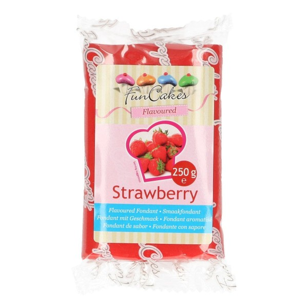 FunCakes Rollfondant Geschmack Strawberry - 250g