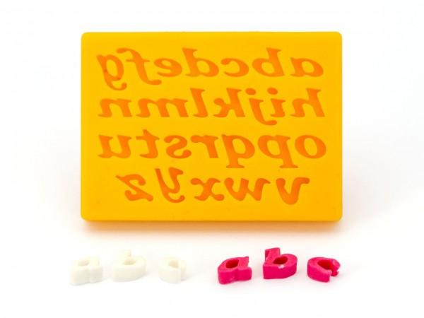 Buchstaben Silikonform