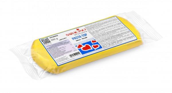 Gelber Fondant Saracino PastaTop - 500g
