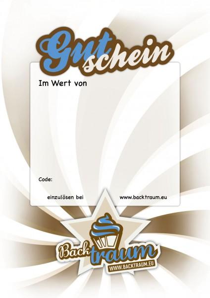 Backtraum Gutschein - 25 EUR