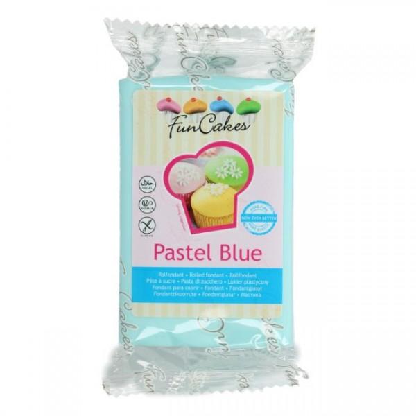 FunCakes Rollfondant Pastel Blue 250gr