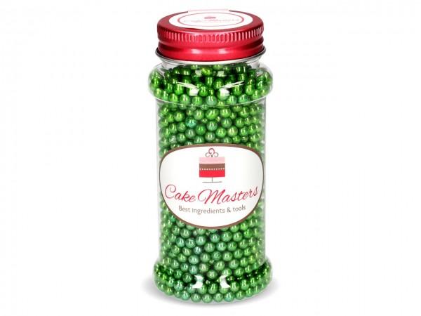 Metallic-Perlen grün 100g