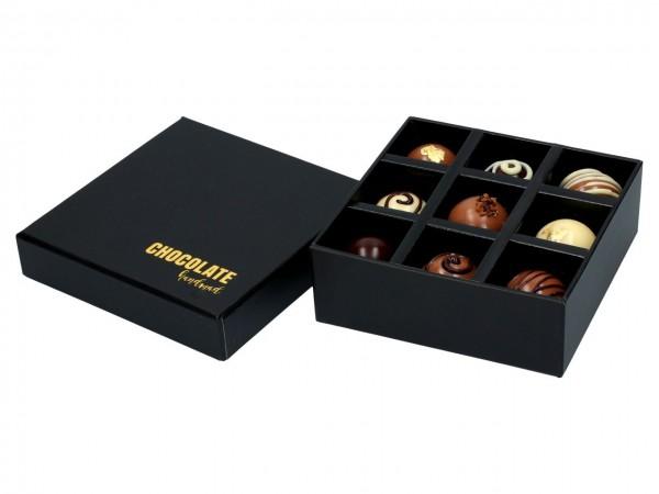 Chocolate Case für 9 Pralinen
